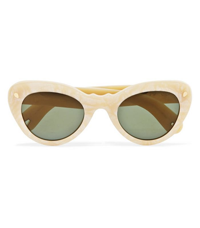 Wingspan Cat-eye Acetate Sunglasses