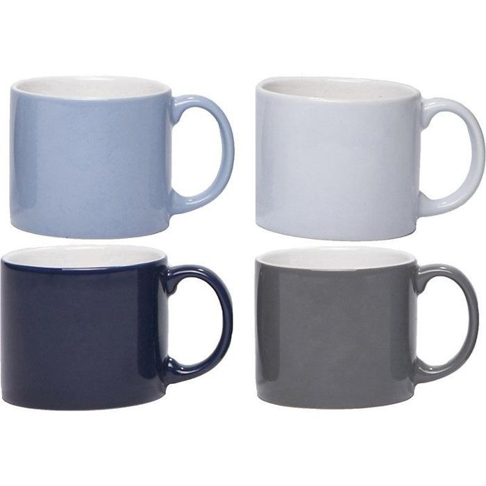 Set of four medium My Mugs