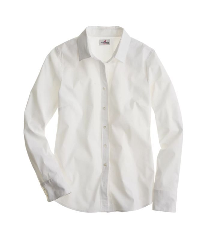 Three-quarter-sleeve stretch perfect shirt