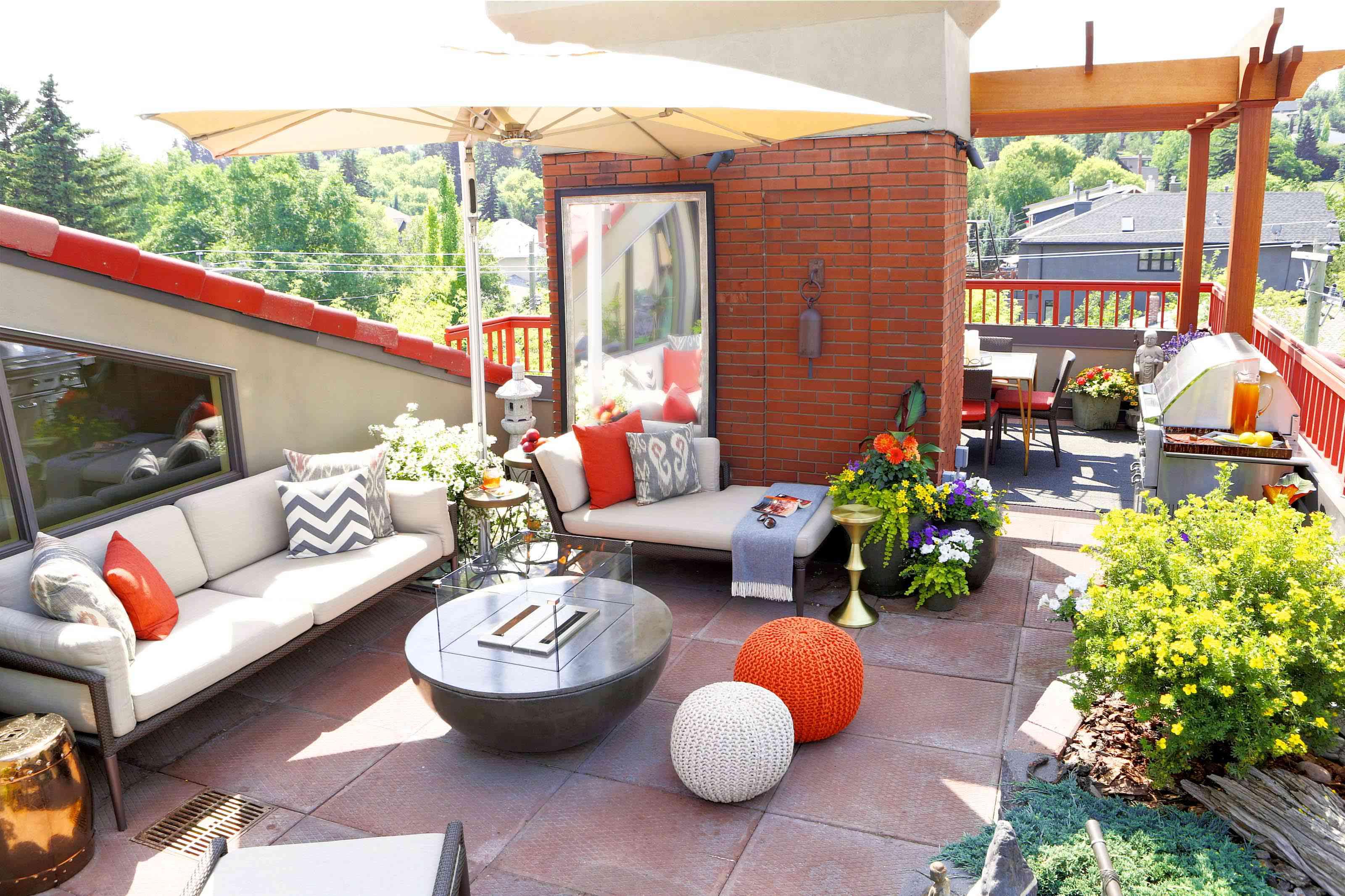 Reena Sotropa backyard design.