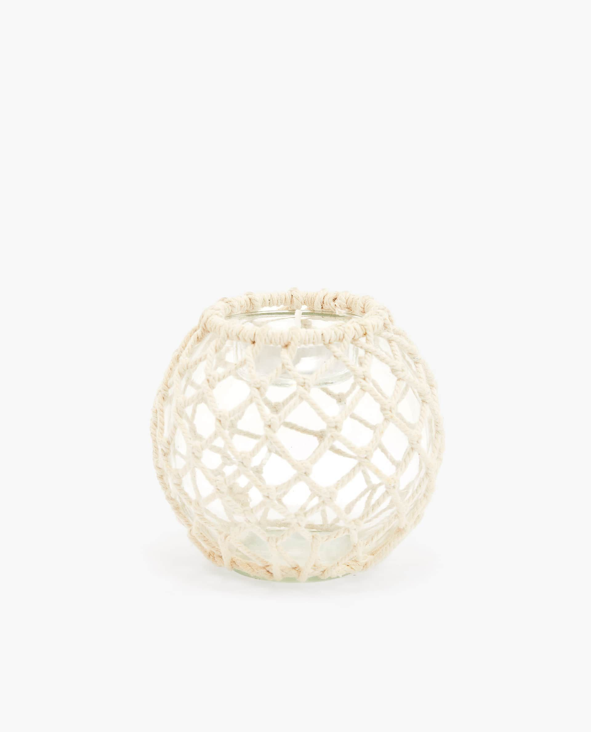 Tealight Holder with Rope
