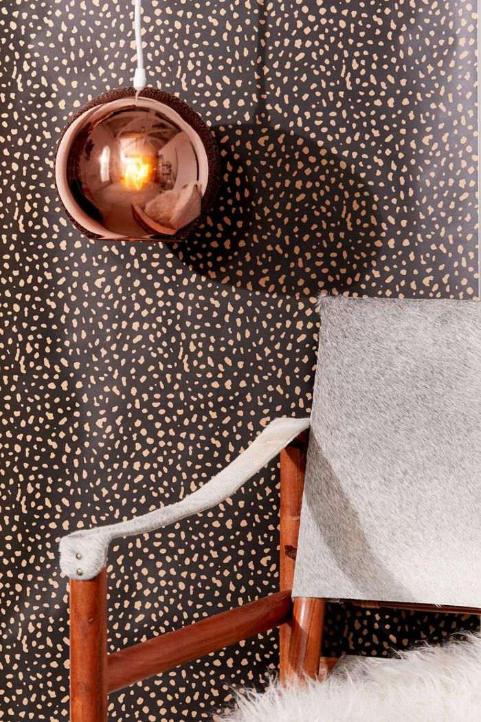 Urban Outfitters Animal Print Removable Wallpaper