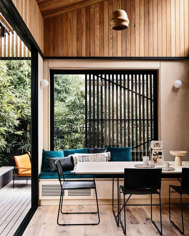 Wood Panel Window