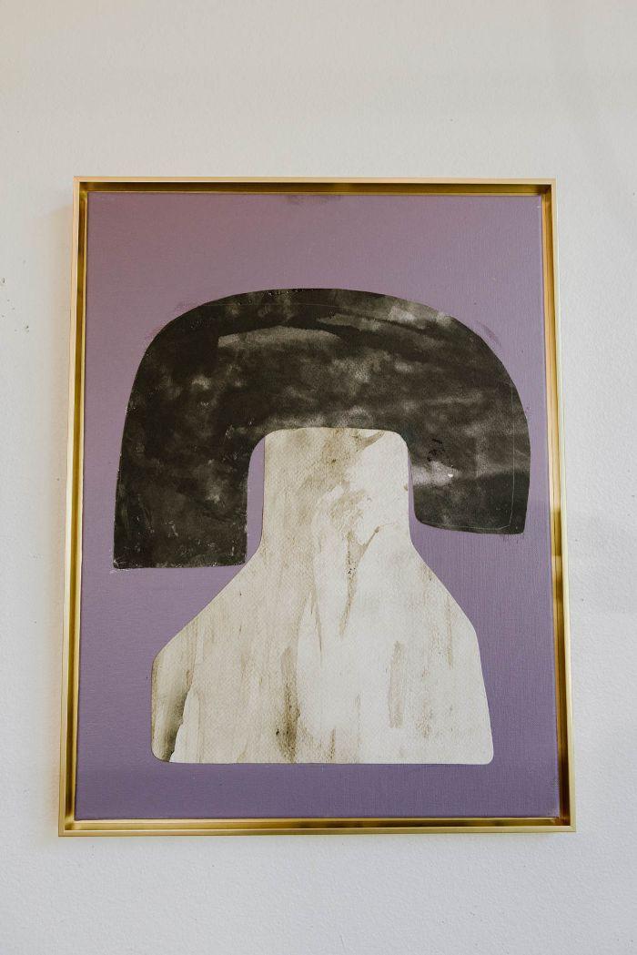 Alexandra Valenti Deep Purple Series #3—How to commission art