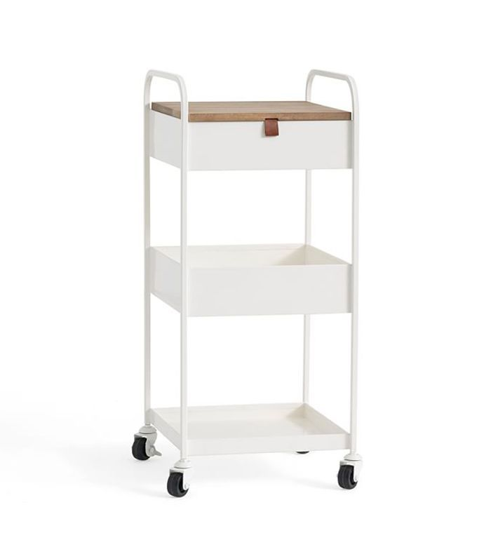 Pottery Barn Wyatt Workspace Rolling Cart