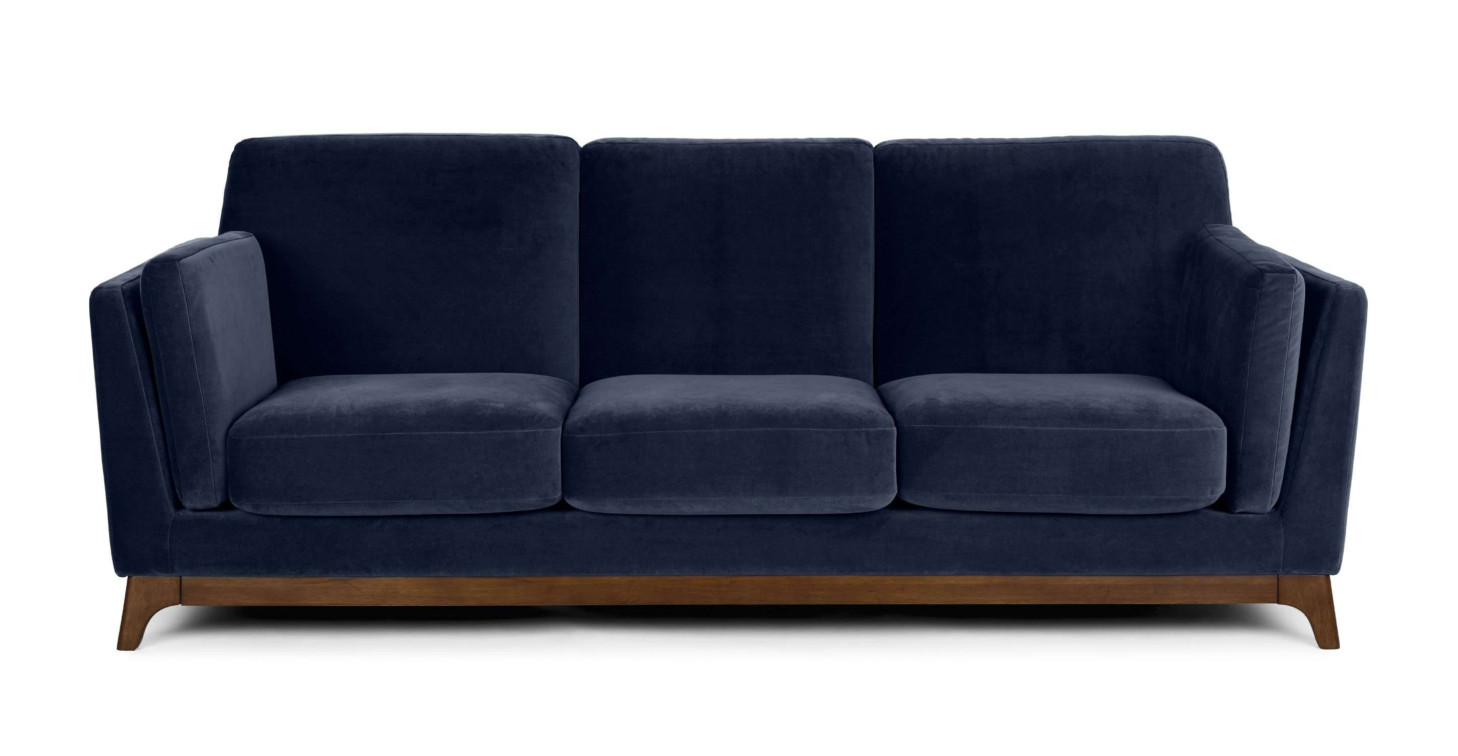 Remarkable Behold The 12 Navy Blue Couches We All Secretly Need Ncnpc Chair Design For Home Ncnpcorg
