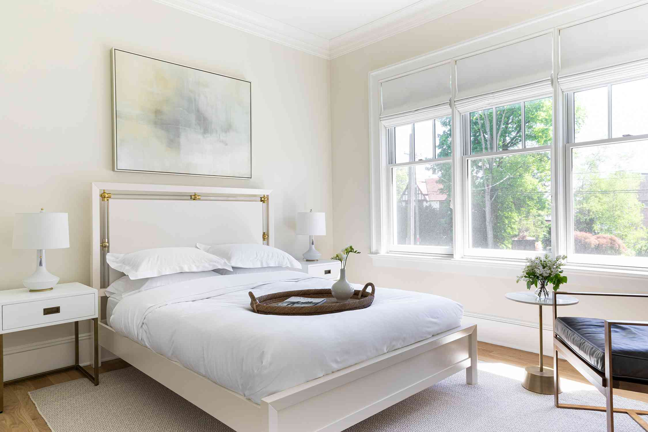 new jersey home tour - guest bedroom