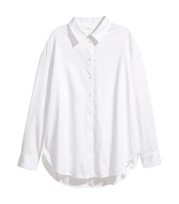 - Cotton Shirt - White - Women