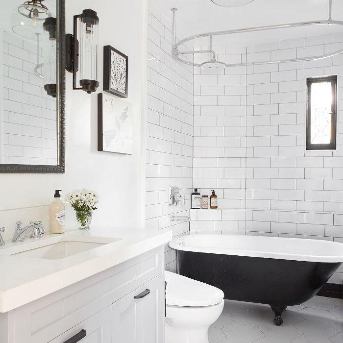 Cococozy: baño principal moderno