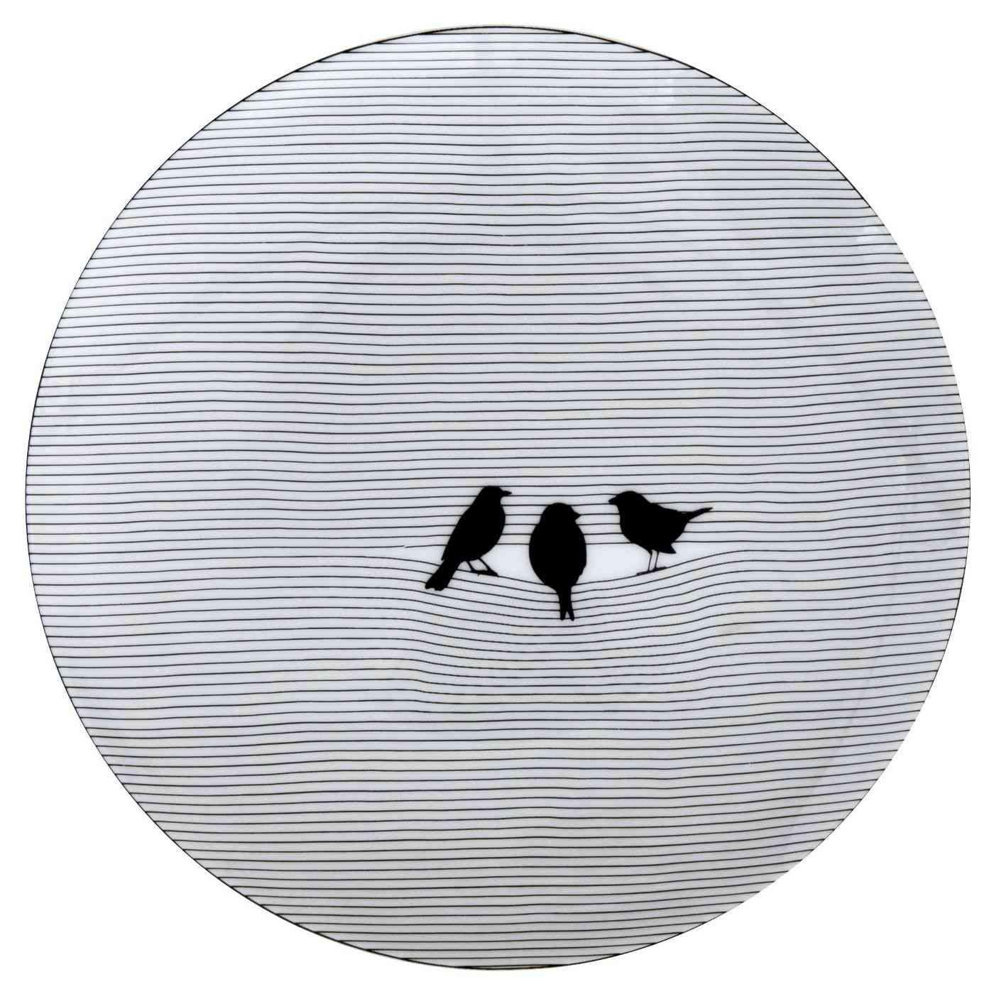Porcelain Round Serving Platter