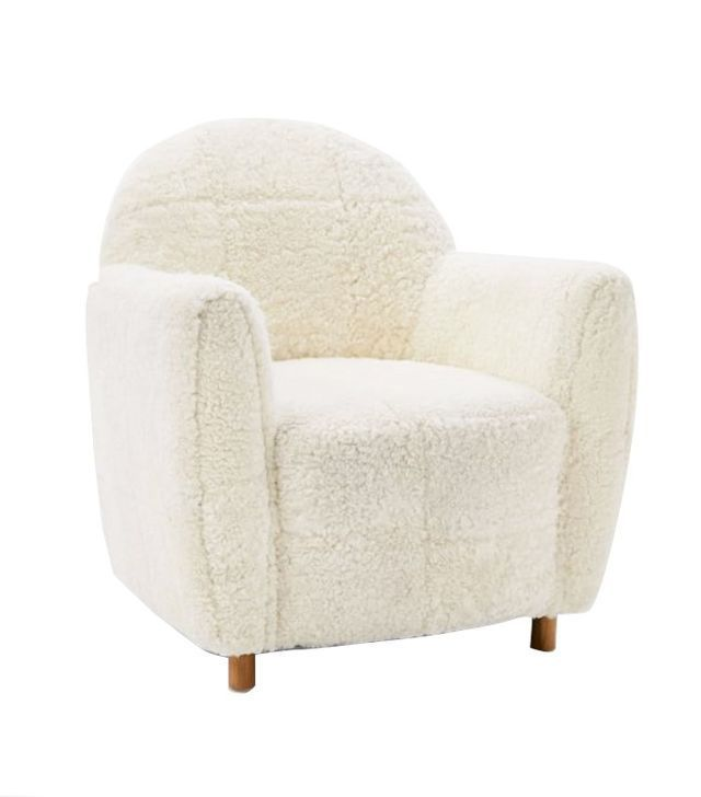 West Elm Commune Shearling Chair