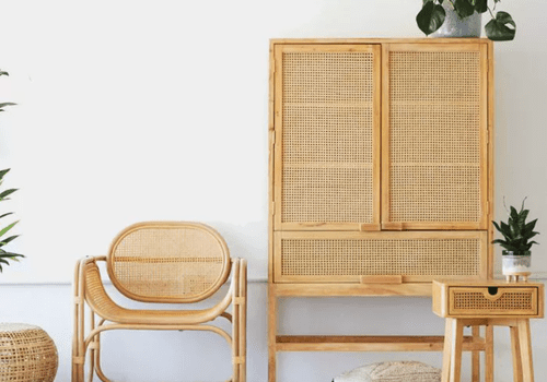 Rattan furniture line by Urban Outfitters