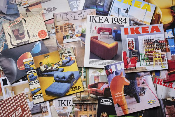 IKEA Catalog throughout the ages.