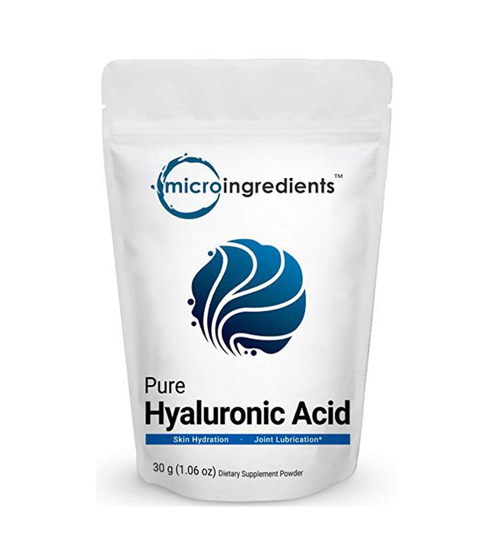 A Dermatologist Recommends Hyaluronic Acid Supplements