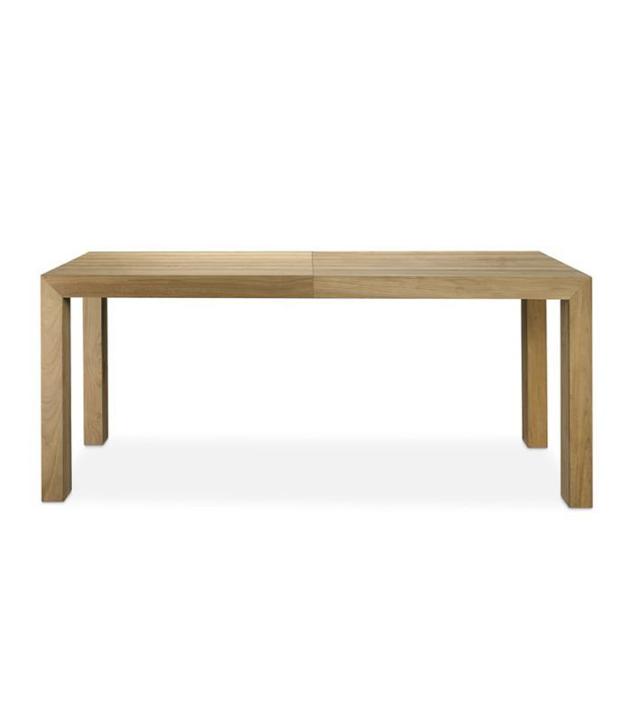 Larnaca Teak Extendable Dining Table