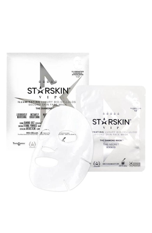 Starskin Starskin The Diamond Mask Vip Illuminating Luxury Bio-Cellulose Second Skin Face Mask