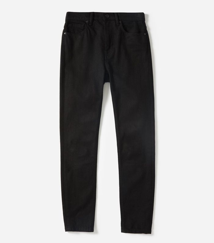 Women's High-Rise Skinny Jean (Regular) by Everlane in Black, Size 28