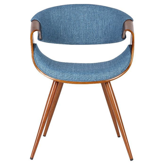 Armen Living Butterfly Midcentury Dining Chair