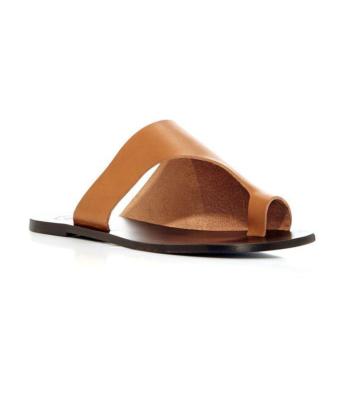 ATP Atelier Rosa Leather Sandals