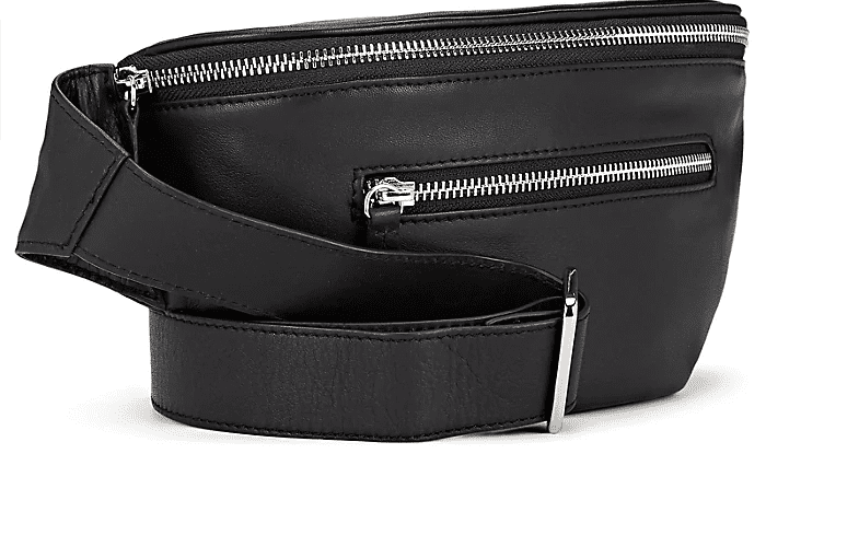 Barneys New York Leather Belt Bag