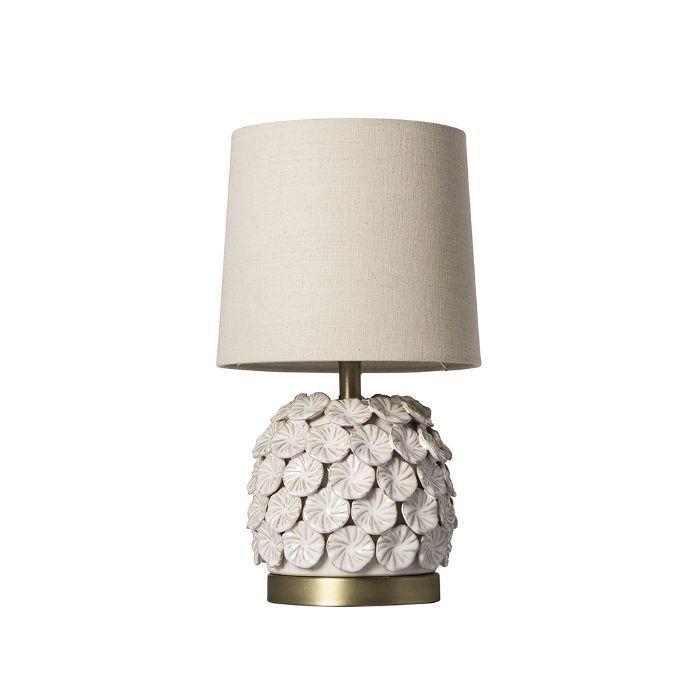 Target Ceramic Applique Table Lamp Cream