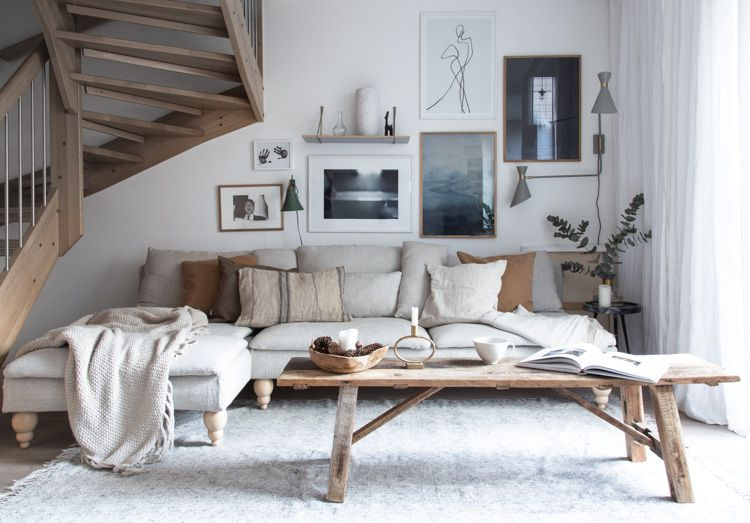 9 of the Most Inspiring Scandinavian Living Rooms We Found on Instagram