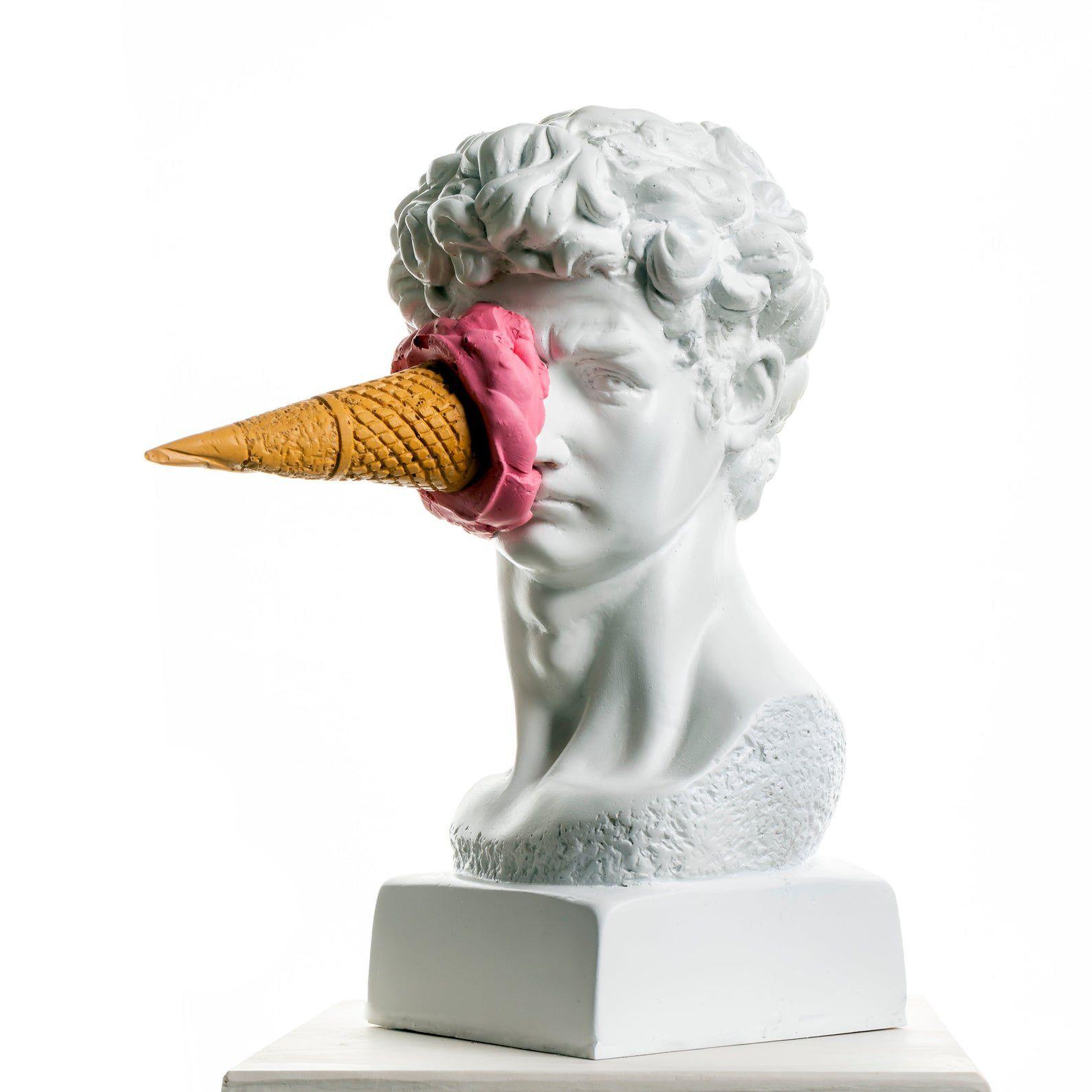 PERARTSculptures Modern David Bust