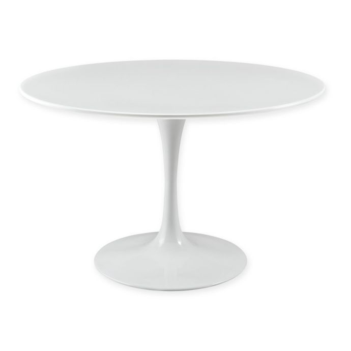 Lippa Round Wood Top Dining Table