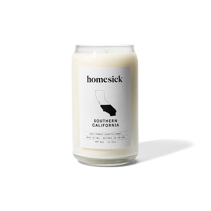 Homesick Scented Candle, Southern California Best Candles on Amazon