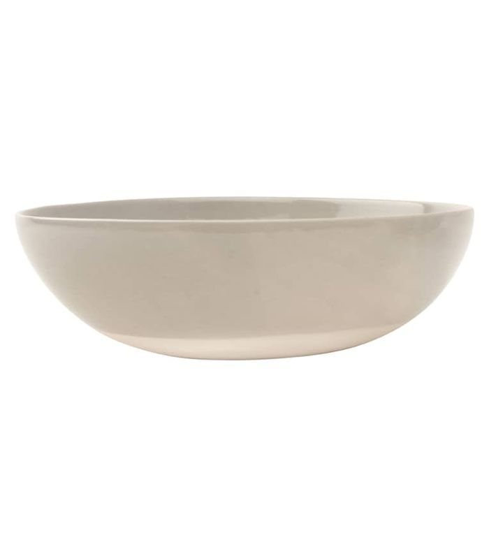 Canvas Home Canvas Home Shell Bisque Serving Bowl