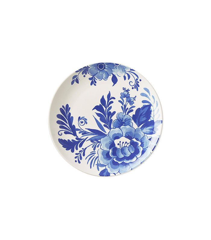 Aerin for Williams-Sonoma Sea Blue Floral Salad Plates