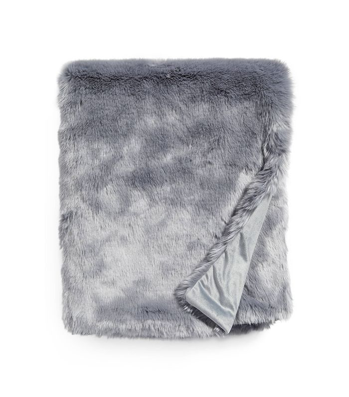 Nordstrom At Home Cuddle Up Faux Fur Throw Blanket