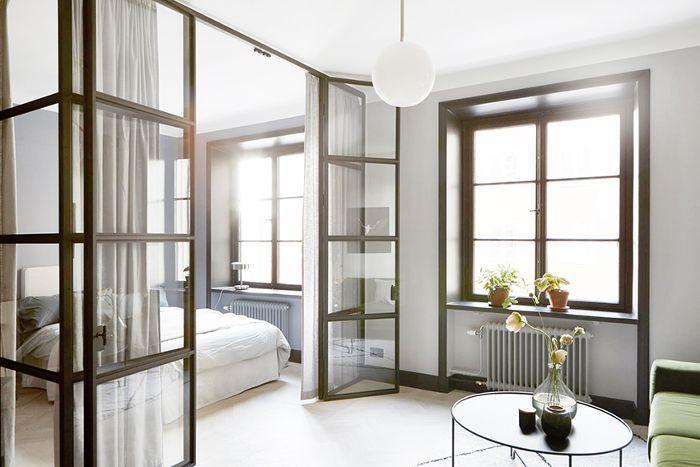Small-Space Scandinavian Design—Studio Apartment
