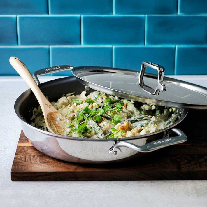 All-Clad d5 Stainless-Steel Nonstick All-In-One Pan