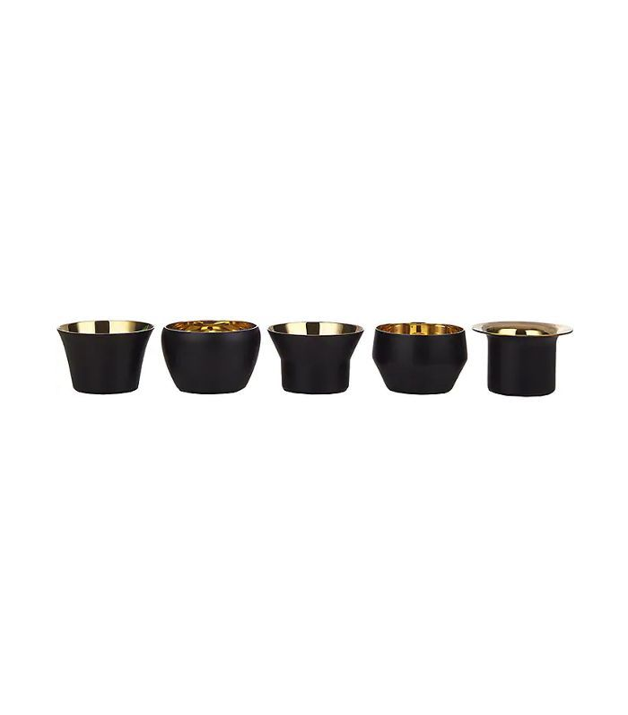 Kin Tea Light Set-Black