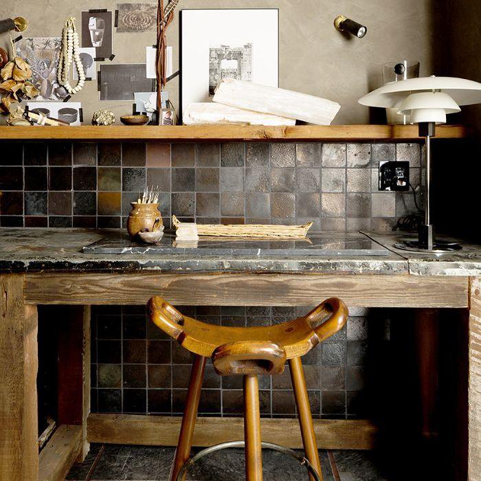 Jeremiah Brent Pottery Room