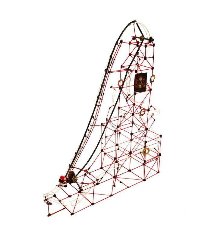 FAO Schwarz 753-Piece Rollercoaster Building Set