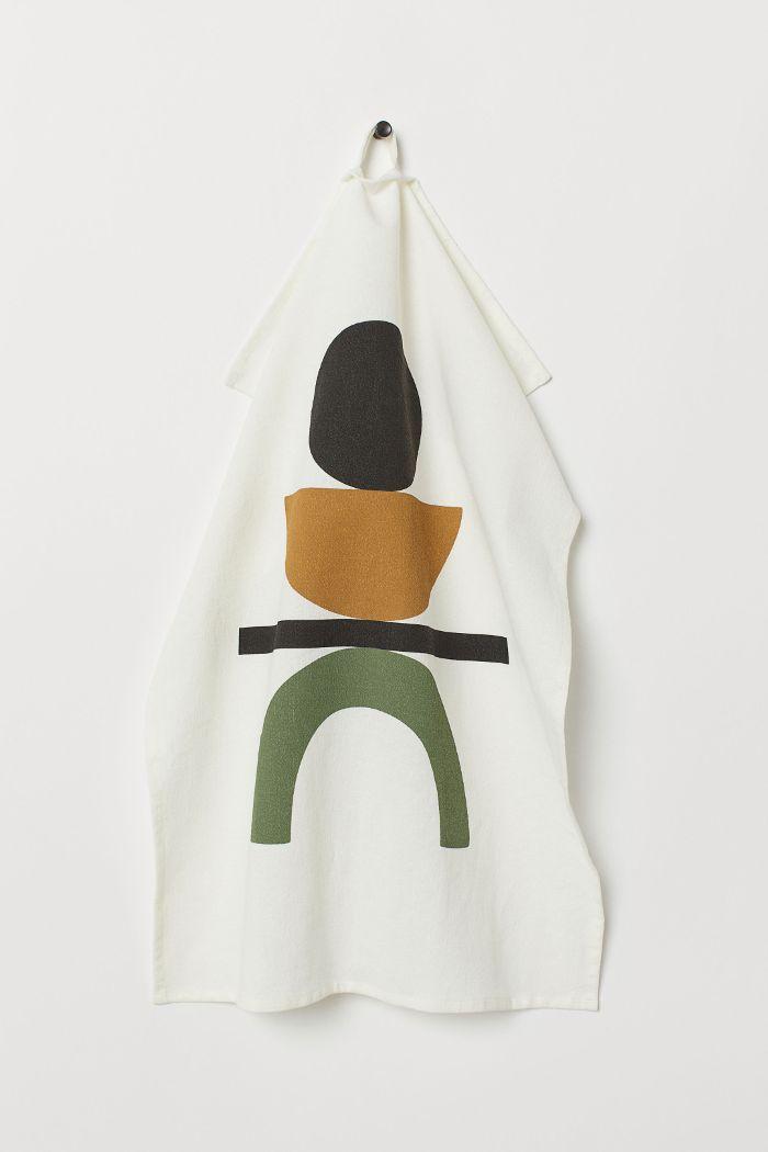 H&M Linen-Blend Tea Towel