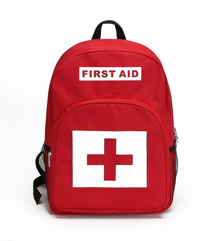 E-Fak Red Backpack First Aid Kit