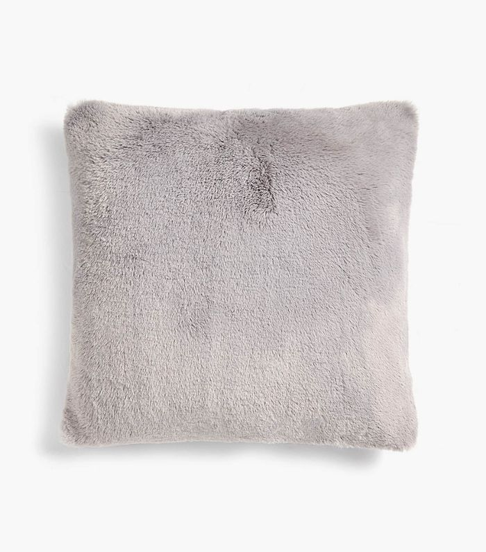 Zara Home Furry Throw Pillow Cover