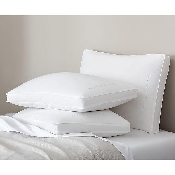Wamsutta Medium Density Support Stomach Sleeper Bed Pillow