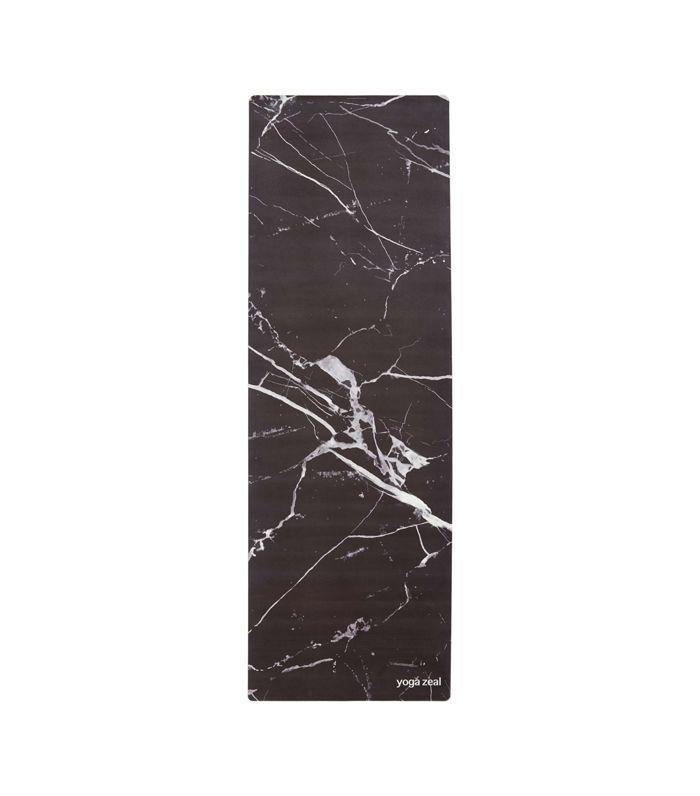 Yoga Zeal Marble Print Yoga Mat