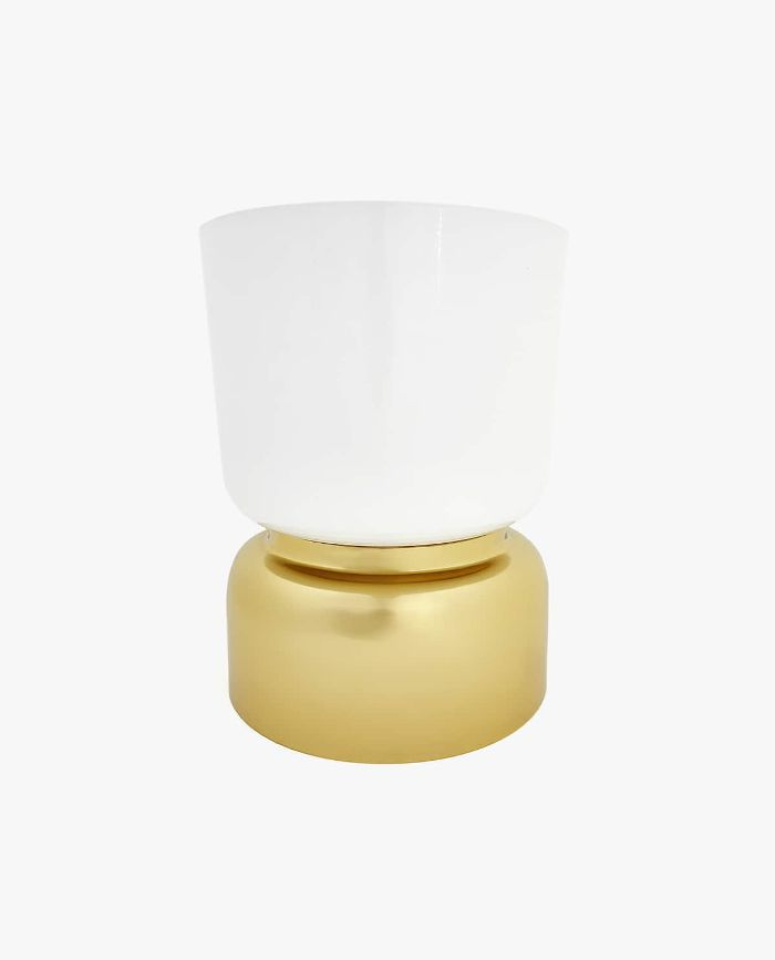 Zara Home Large Flowerpot with Gold Base