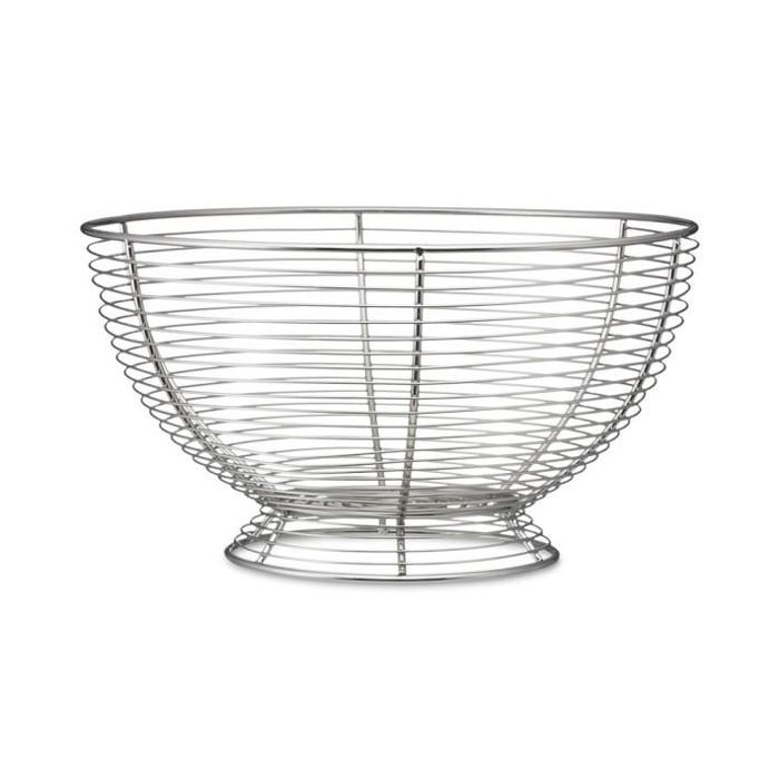 Silver Wire Fruit Basket