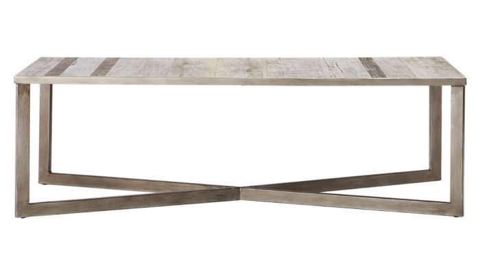 CB2 Faux Bois Coffee Table