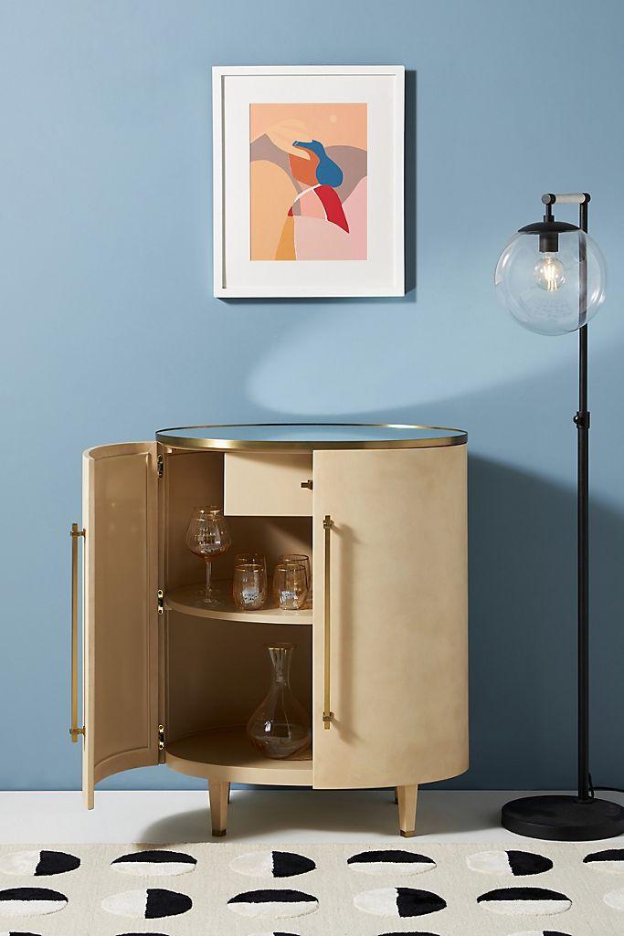 Leonie Luxe Bar Cabinet
