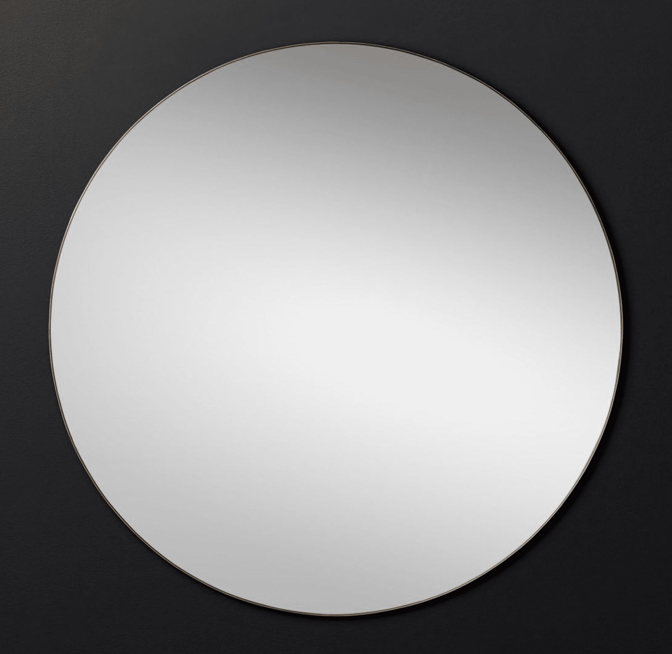 Lucent Round Mirror