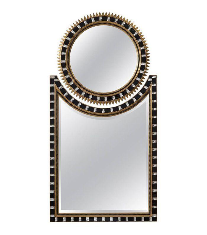 1stDibs Two Part Art Deco Sunburst Mirror