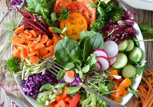 colorful salad