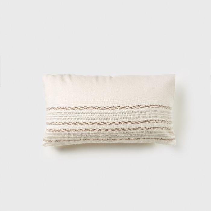 Jenni Kayne Alpaca Stripe Rectangle Pillow